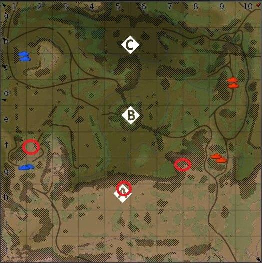 карта корея war thunder