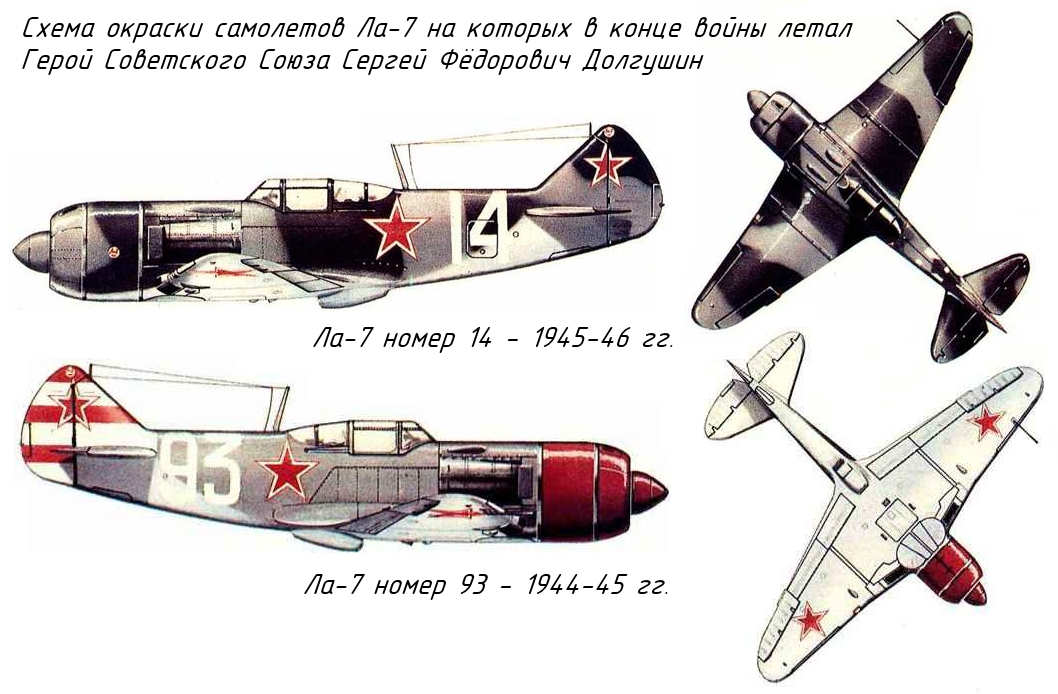 Схемы окраски самолета