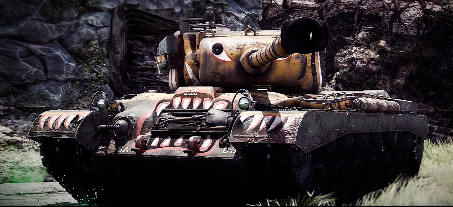 war thunder м46 тигр