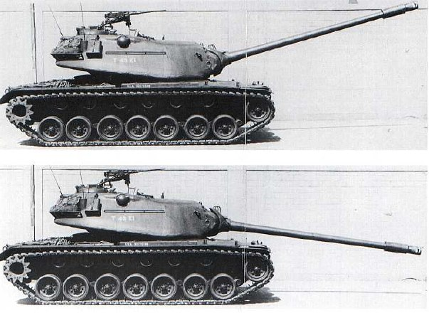 наводки танка М103