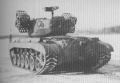 M26 with T99 Rocket Projector, back view.jpg