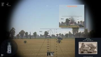 ракетный прицел вар тандер
