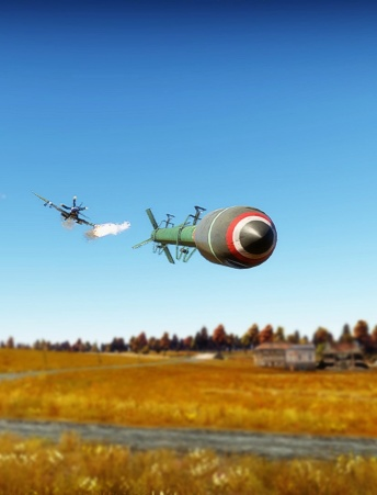 вар тандер как стрелять ракетами с танка